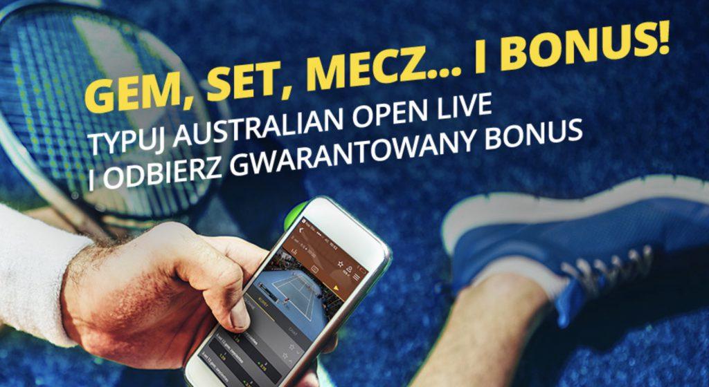 20 PLN w Fortunie na Australian Open 2019!