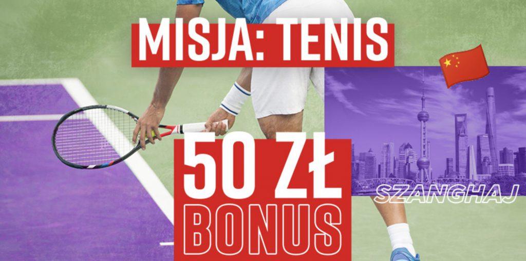 Bonus 50 PLN od Betclic Polska. Jak zgarnąć kasę za obstawianie tenisa?